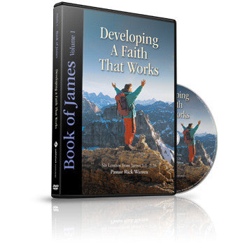 Developing a Faith that Works: James Vol. 1 Small Group DVD