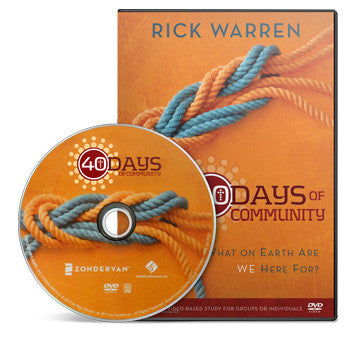 40 Days of Community Small Group DVD