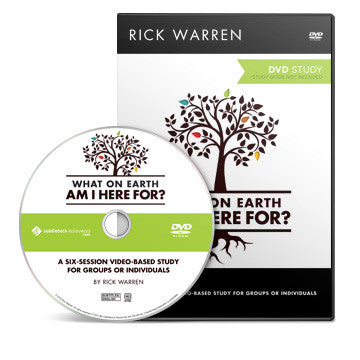 What On Earth Am I Here For? Small Group DVD