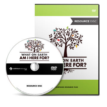 What On Earth Am I Here For? Campaign Resource Disc (DVD-ROM)