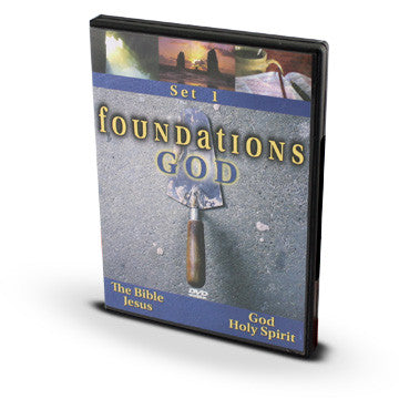 Foundations Seminar: God (2 DVDs)