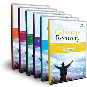 Testimonies to Go Vol. 1-12 Bundle (6 DVDs)