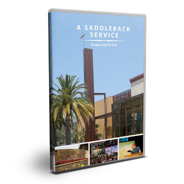 A Saddleback Service: From Beginning to End