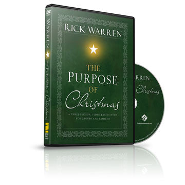 The Purpose of Christmas Small Group DVD
