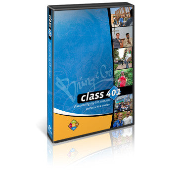 CLASS 401: Discovering My Mission Kit