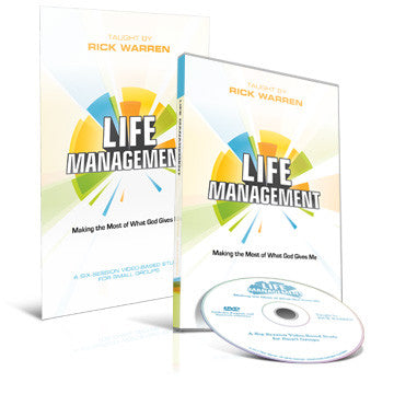 Life Management Study Kit (DVD and Study Guide)