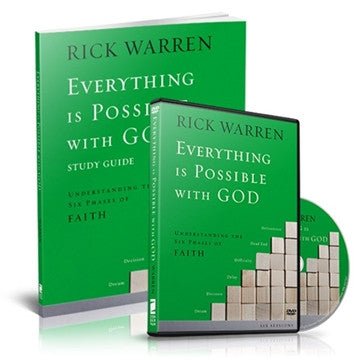 Everything Is Possible With God Study Kit