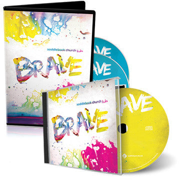 Brave Children's Worship Album and Resource Disc Bundle