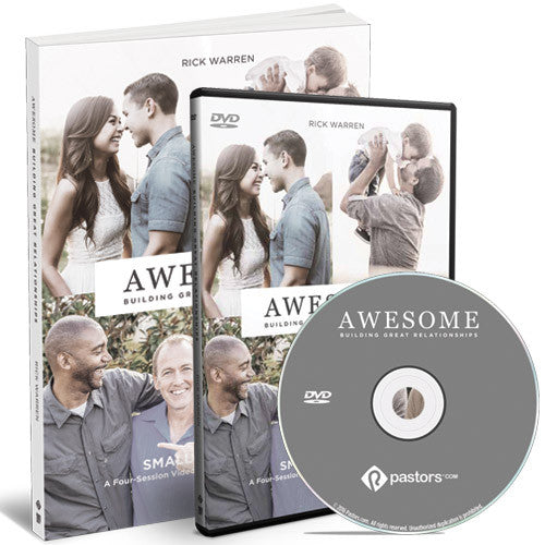 AWESOME: Building Great Relationships Study Kit (DVD and Study Guide)