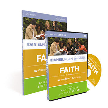 Faith Study Kit: The Daniel Plan Essentials Series (DVD and Study Guide)