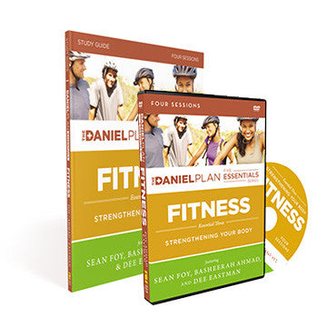 Fitness Study Kit: The Daniel Plan Essentials Series (DVD and Study Guide)