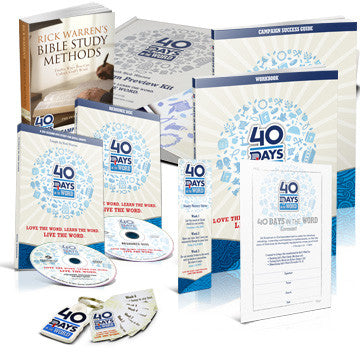 40 Days In the Word Campaign Starter Kit