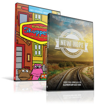 Building Skuppeton and The Legends of New Hope Children's Curriculum Bundle