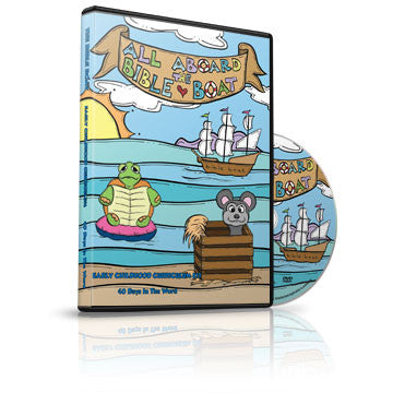 All Aboard the Bible Boat Early Childhood Curriculum