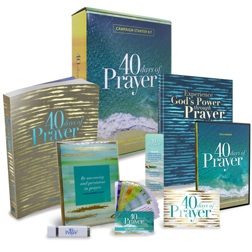 40 Days of Prayer Campaign Starter Kit