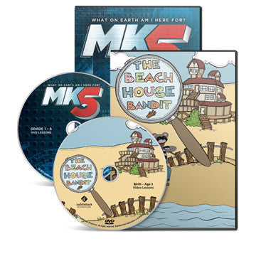 The Beach House Bandit and MK5 Early Childhood and Elementary Bundle
