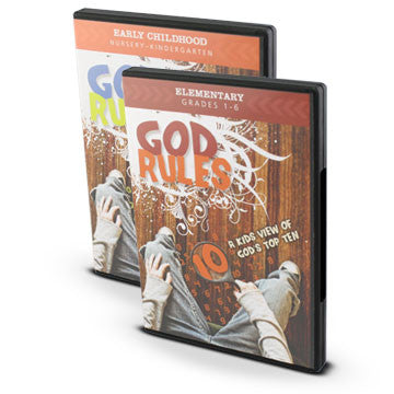 God Rules Early Childhood and Elementary Bundle