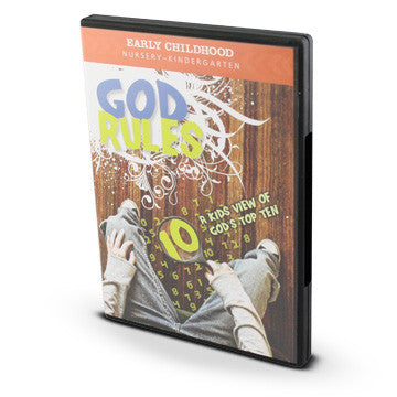 God Rules Early Childhood Curriculum