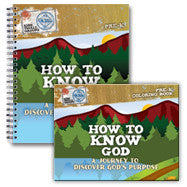 How to Know God: Journey to Discover God's Purpose (Workbook and Activity Book)