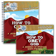 How to Obey God: Journey to Discover God's Promise (Workbook and Activity Book)