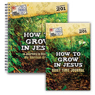 How to Grow in Jesus: Journey to Discover My Spiritual Growth (Workbook and Journal)