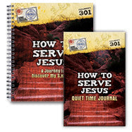 How to Serve Jesus: Journey to Discover My SHAPE (Workbook and Journal)