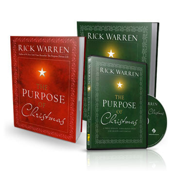 The Purpose of Christmas Kit (Book, DVD, and Study Guide ...