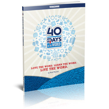 40 Days in the Word Workbook