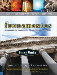 Fundamentos: Manual del Maestro Volumen 1 (Tapa blanda)
