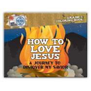 How to Love Jesus: Journey to Discover My Savior (10 Activity Books)
