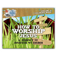 How to Worship Jesus: Journey to Discover My Church (10 Activity Books)