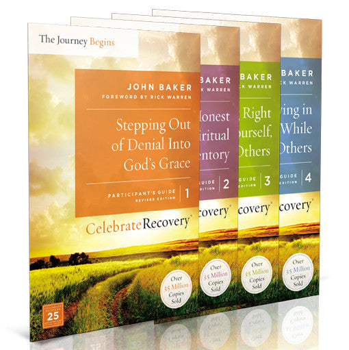The Journey Begins Participant's Guide Set Volumes 1-4