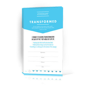 Transfomed Covenant Cards (Pack of 25)
