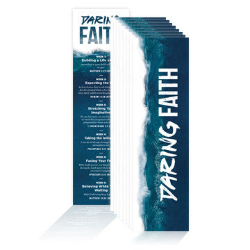 Daring Faith Memory Verse Bookmarks (Pack of 25)