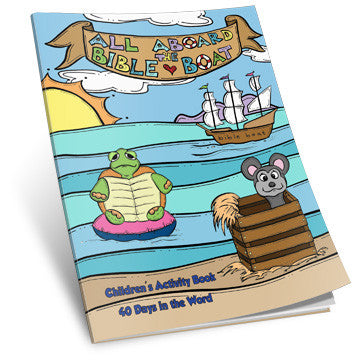 All Aboard the Bible Boat Activity Book