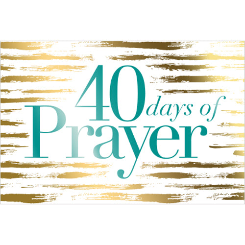 40 Days of Prayer Decals (Pack of 10)