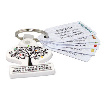 What On Earth Am I Here For? Memory Verse Keytags (Pack of 25)