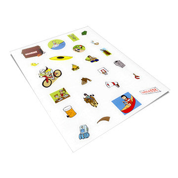 How to Obey God: Replacement Sticker Pages (Pack of 5)