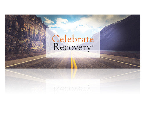 Celebrate Recovery Vinyl Banner