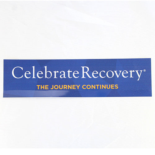 Celebrate Recovery Bumper Sticker