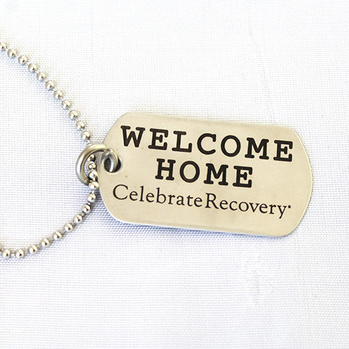 Welcome Home Military Dog Tag