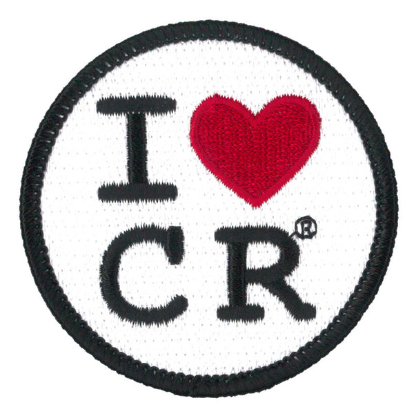 Celebrate Recovery I Heart Cr Patch