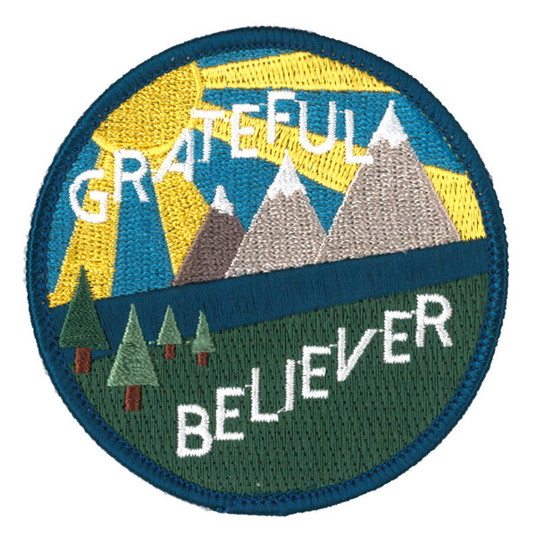 Celebrate Recovery Grateful Believer Patch