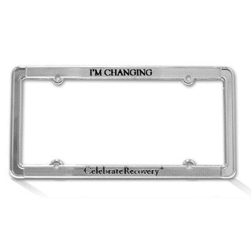 CR Gear: License Plate Frame - I'm Changing