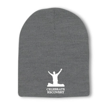 Celebrate Recovery Beanie With Embroidered Logo