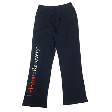 Celebrate Recovery Women's Navy Sweat Pant