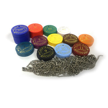 Celebrate Recovery Chip Starter Kit (75 Assorted Plastic Chips)