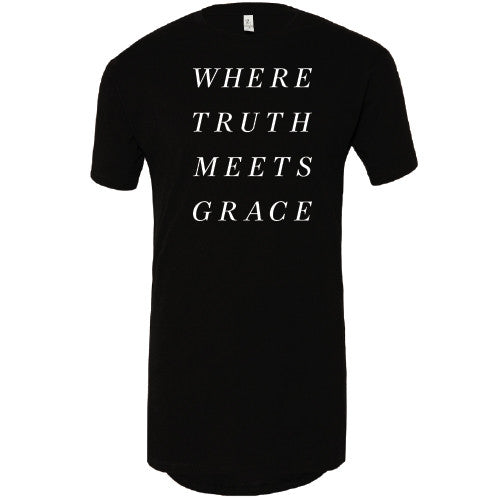 Where Truth Meets Grace Black Tunic