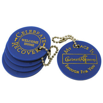 Celebrate Recovery Chip First Time Attender - Blue