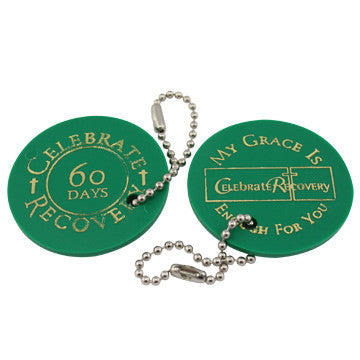 Celebrate Recovery Chip 60-Day - Green
